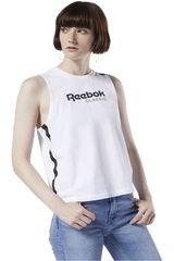 Reebok Blanco de Mujer modelo cl reebok tank Deportivo Polos