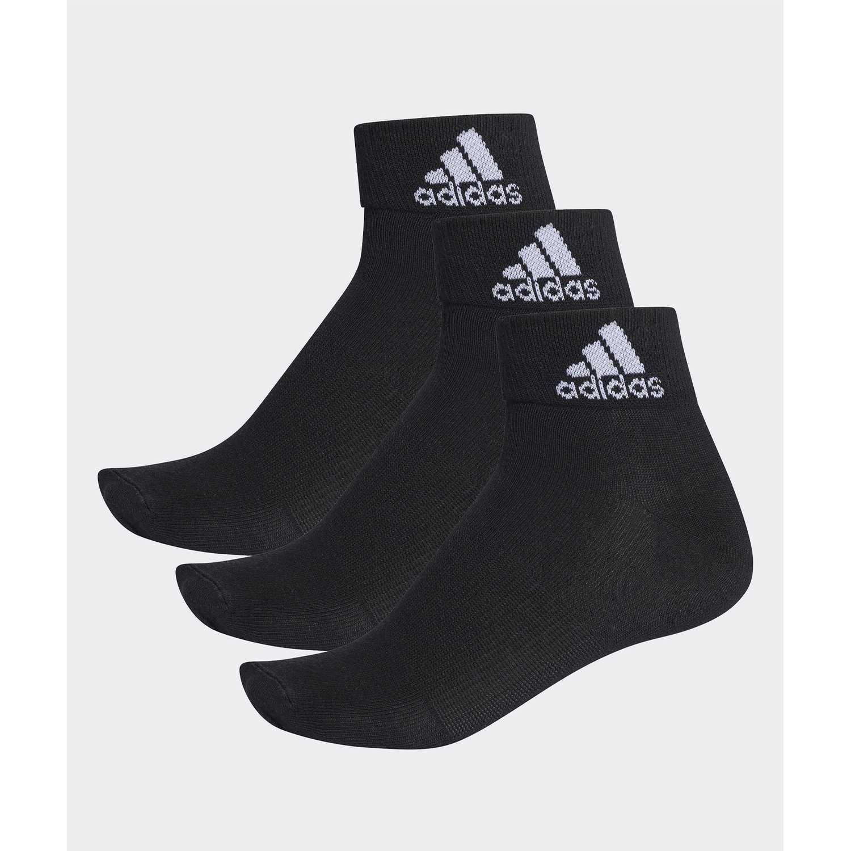 Media de Hombre Adidas Negro per ankle t 3pp