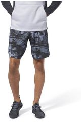 Reebok Negro / plomo de Hombre modelo wor board short - aop Deportivo Shorts
