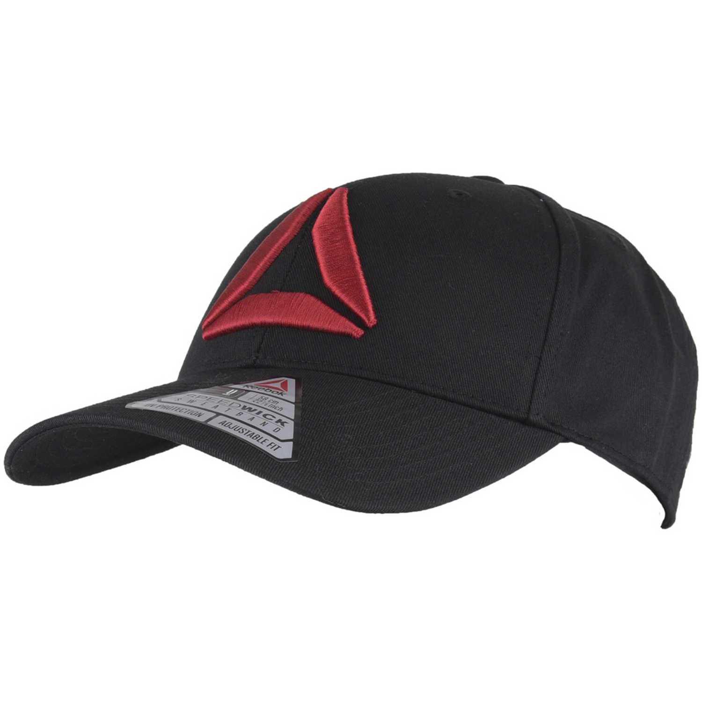 3fe73b1a9ed60 Gorro de Hombre Reebok Negro   rojo act enh baseb cap