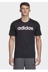 Adidas Negro de Hombre modelo e lin tee Polos Deportivo
