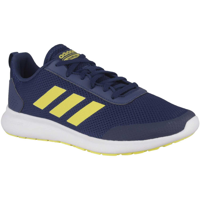 0d10e2c125453 Zapatilla de Hombre Adidas Azul   amarillo argecy