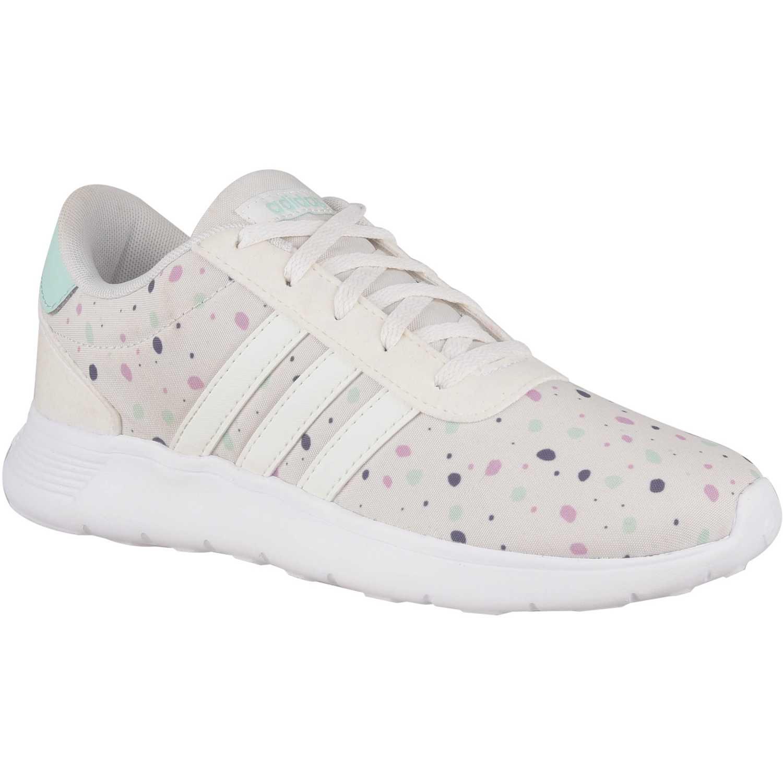 Zapatilla de Jovencita Adidas Blanco lite racer k