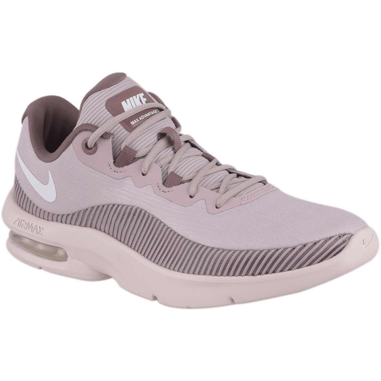 91fee26c7 Zapatilla de Mujer Nike Morado   blanco wmns nike air max advantage ...
