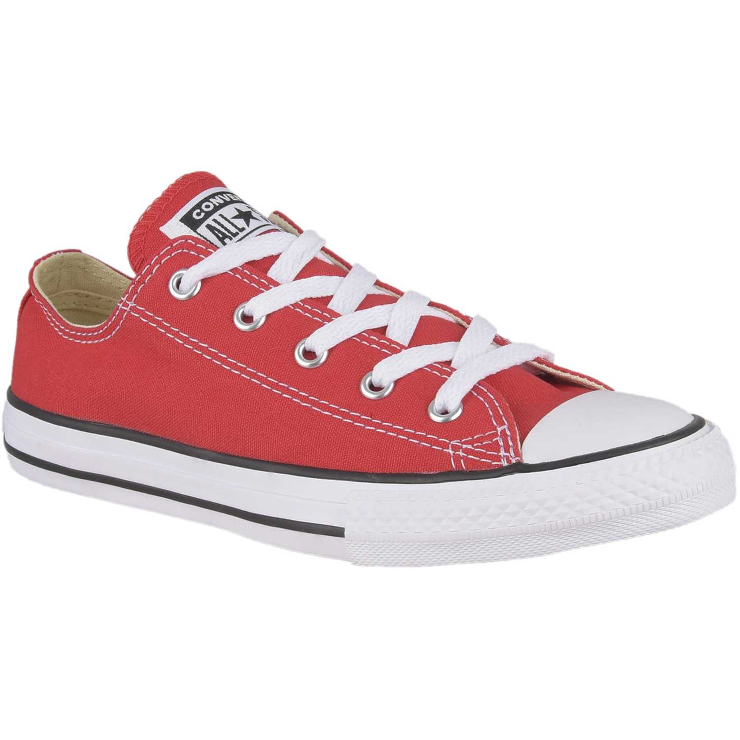 Zapatilla de Jovencito Converse Rojo / blanco ct as core ox