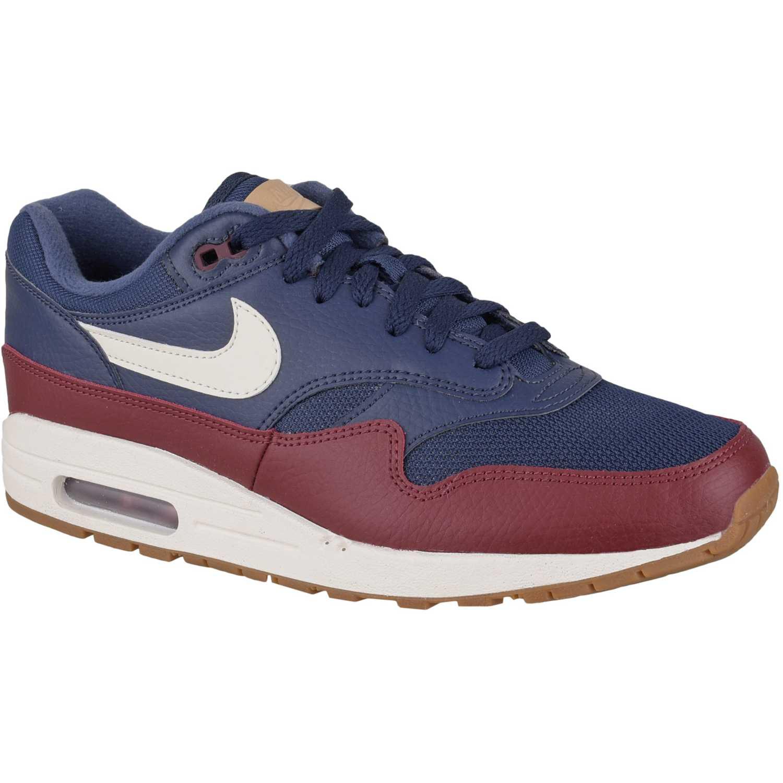 buy popular 854ee a4216 Zapatilla de Hombre Nike Azul / rojo nike air max 1 | platanitos.com
