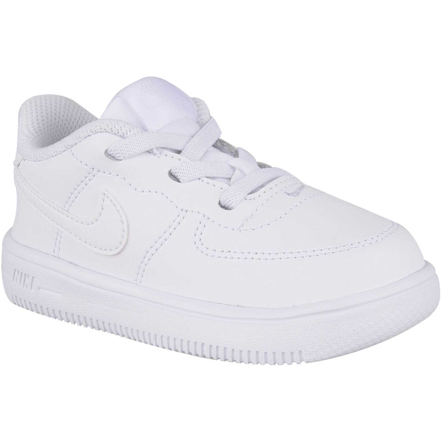 Zapatilla de Niño Nike Blanco/blanco force 1 18 bt