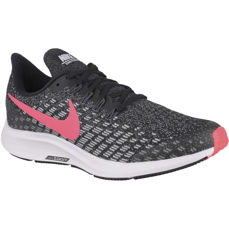 Zapatilla de Jovencita Nike Plomo / rosado nike air zoom pegasus 35 gg