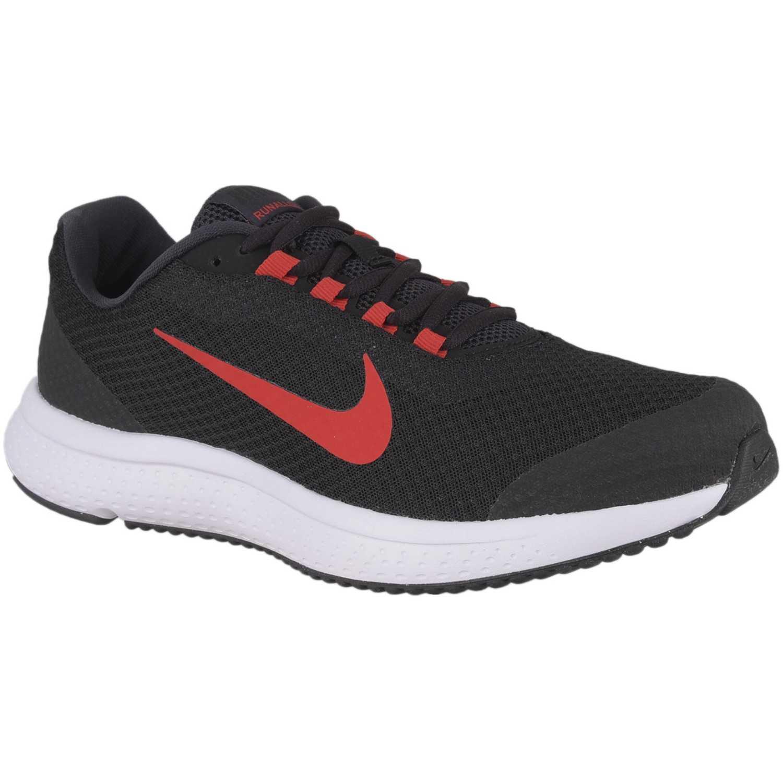 Zapatilla de Hombre Nike Negro   rojo nike runallday  e6f715c6d