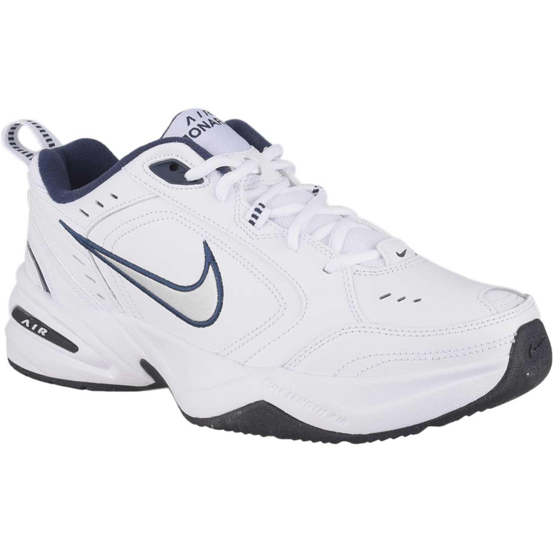 4fd5368555d Zapatilla de Hombre Nike Blanco   azul air monarch iv