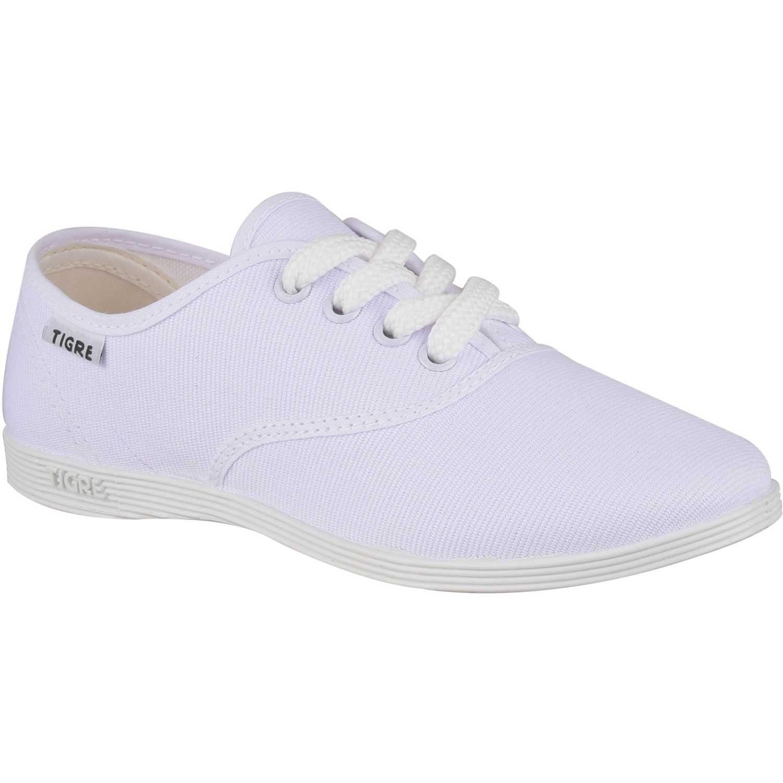 Zapatilla de Mujer Tigre Blanco 55916270