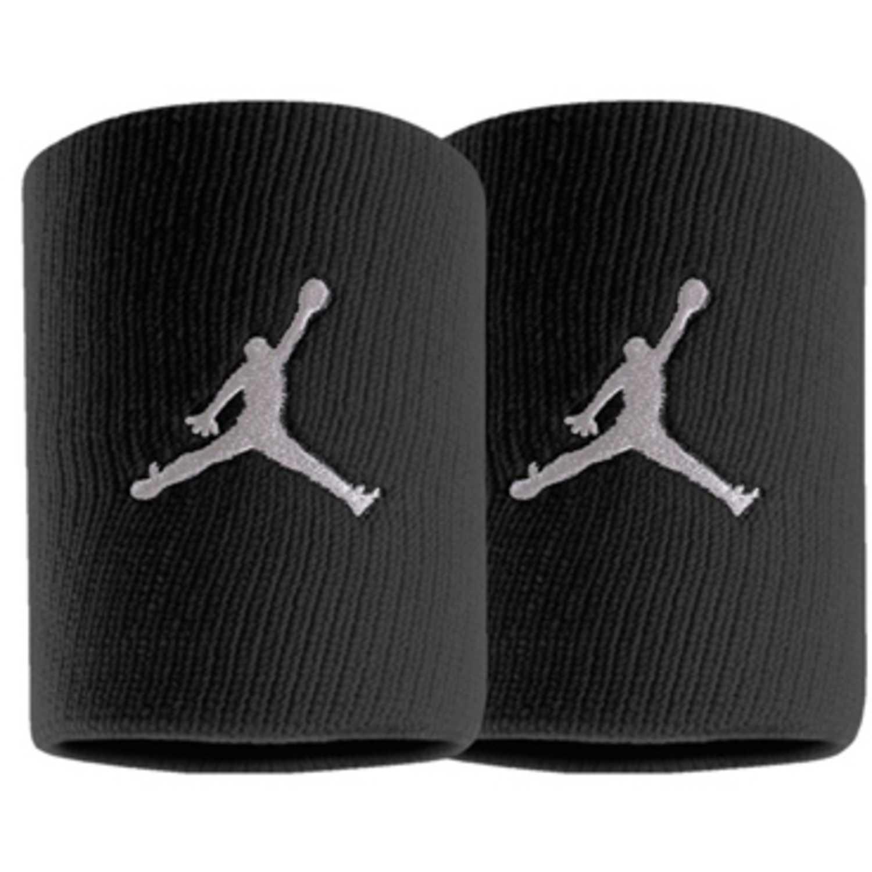 Muñequera de Hombre Nike Negro jordan jumpman wristbands