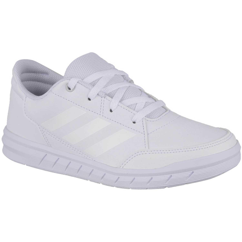 Zapatilla de Jovencito Adidas Blanco altasport k
