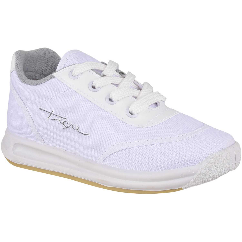 Zapatilla de Jovencita Tigre Blanco 35917090