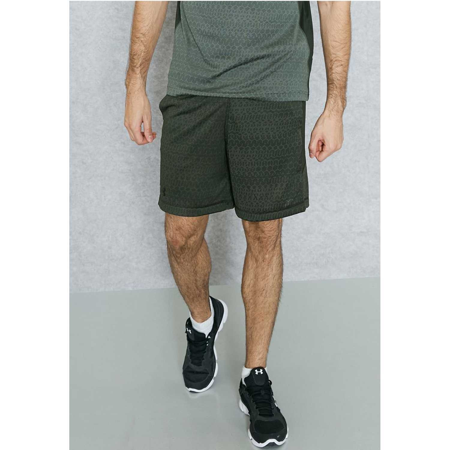 Short de Hombre Under Armour Militar ua raid jacquard 8'' short