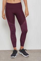 Under Armour Guinda de Mujer modelo tb balance mesh ankle crop Deportivo Leggins