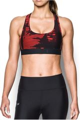 Under Armour Gris / negro de Mujer modelo crossback deboss band Deportivo Tops