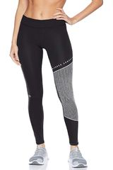 Under Armour Negro / blanco de Mujer modelo ua cg armour block gr leging-blk Deportivo Leggins