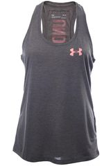 Under Armour Gris / rosado de Mujer modelo threadborne trn tank-graphic Bividis Deportivo