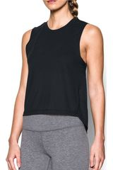 Under Armour Negro de Mujer modelo breathe muscle tank Bividis Deportivo