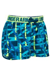 Under Armour Celeste / amarillo de Niña modelo printed play up short Deportivo Shorts