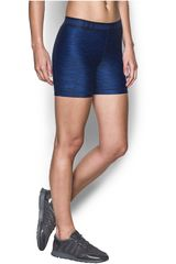 Under Armour Azul / negro de Mujer modelo ua hg armour printed middy Deportivo Shorts