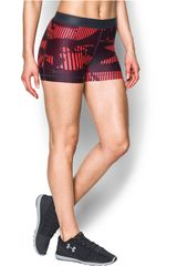 Under Armour Rojo de Mujer modelo ua hg armour printed shorty Deportivo Shorts