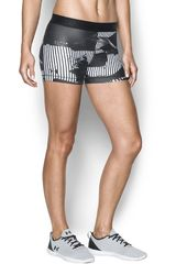 Under Armour Blanco / negro de Mujer modelo ua hg armour printed shorty Deportivo Shorts