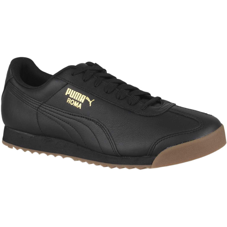 Zapatilla de Hombre Puma Negro roma classic gum