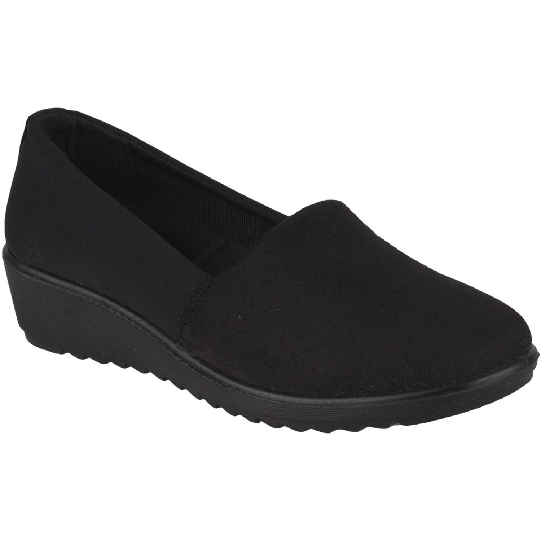 Calzado de Mujer Platanitos Negro cw 6021
