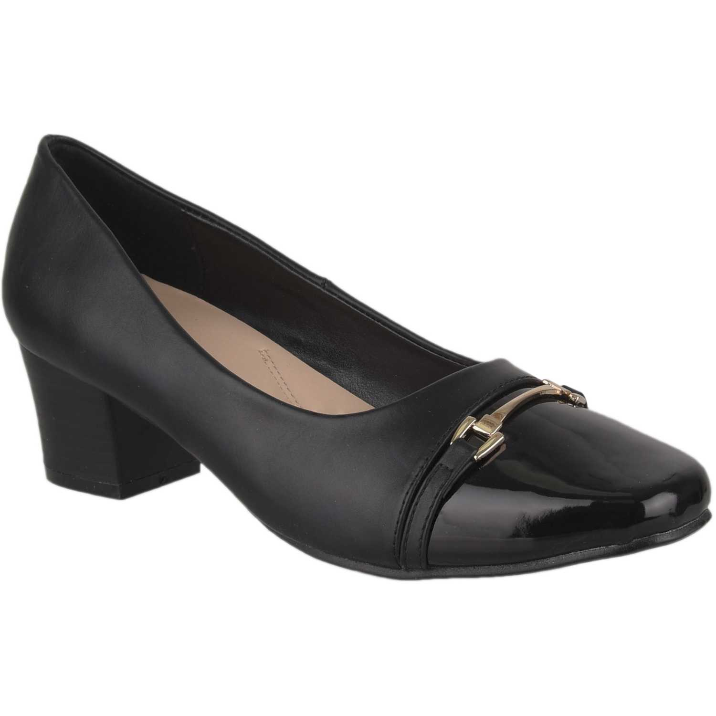 Calzado de Mujer Platanitos Negro cv 2517