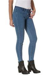 CAT Azul de Mujer modelo essential jegging Casual Pantalones Jeans