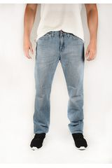 Wrangler Celeste de Hombre modelo brockton authentic Jeans Casual Pantalones
