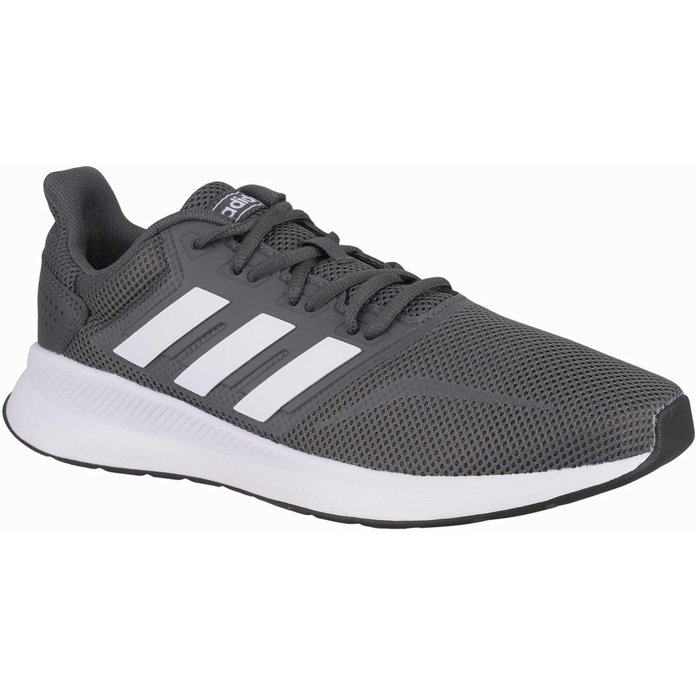 Zapatilla de Hombre Adidas Negro / blanco runfalcon