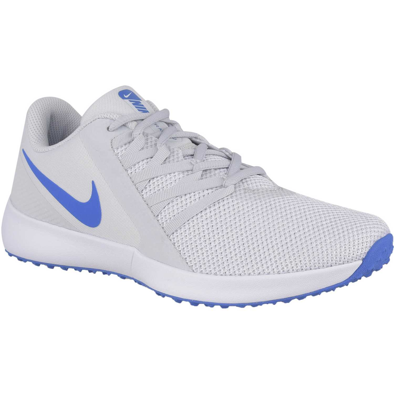 Zapatilla de Hombre Nike Gris / azul nike varsity compete trainer