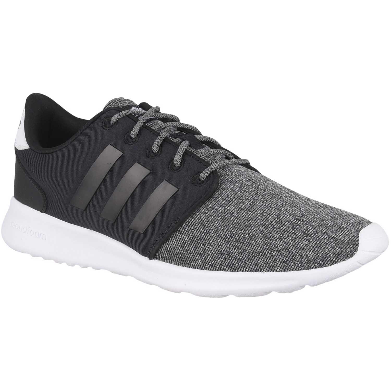 Zapatilla de Mujer Adidas Negro /gris cf qt racer