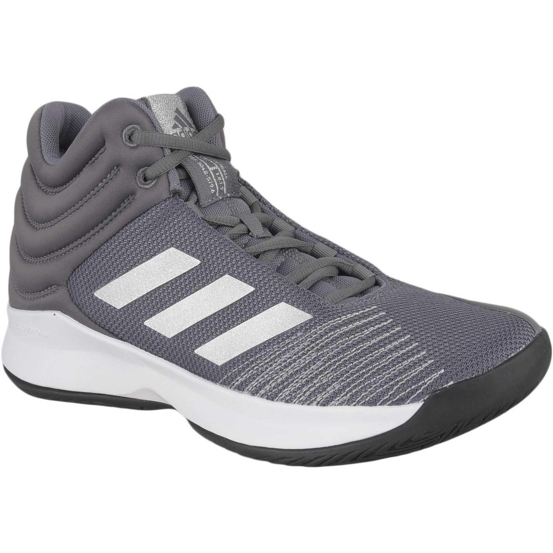Zapatilla de Hombre Adidas Plomo/blanco pro spark 2018