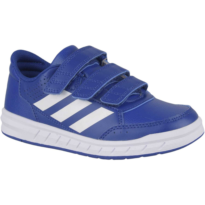 Zapatilla de Niño Adidas Azul altasport cf k