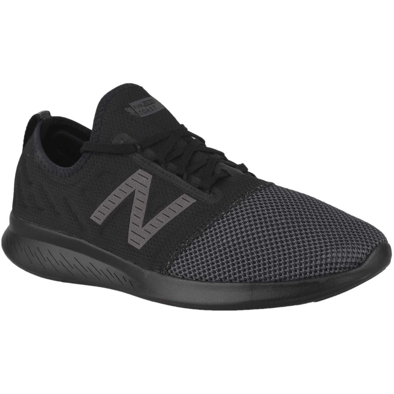 Zapatilla de Hombre New Balance Negro /gris coast