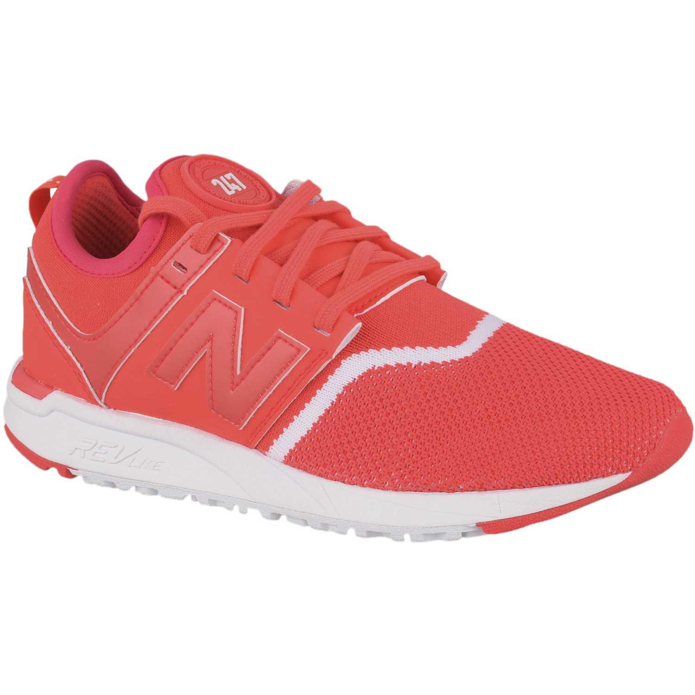 Zapatilla de Mujer New Balance Rojo / blanco 247
