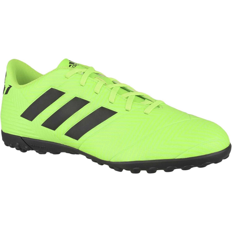 Zapatilla de Hombre Adidas Verde nemeziz messi tango 18.4 tf