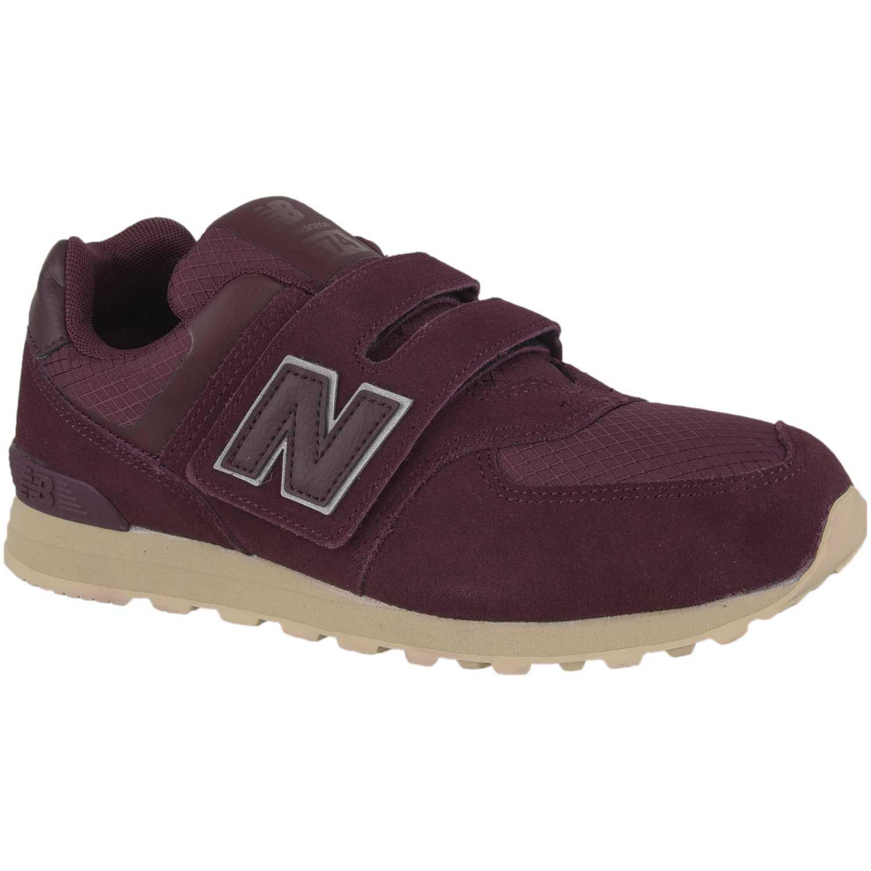 Zapatilla de Niño New Balance Guinda s574