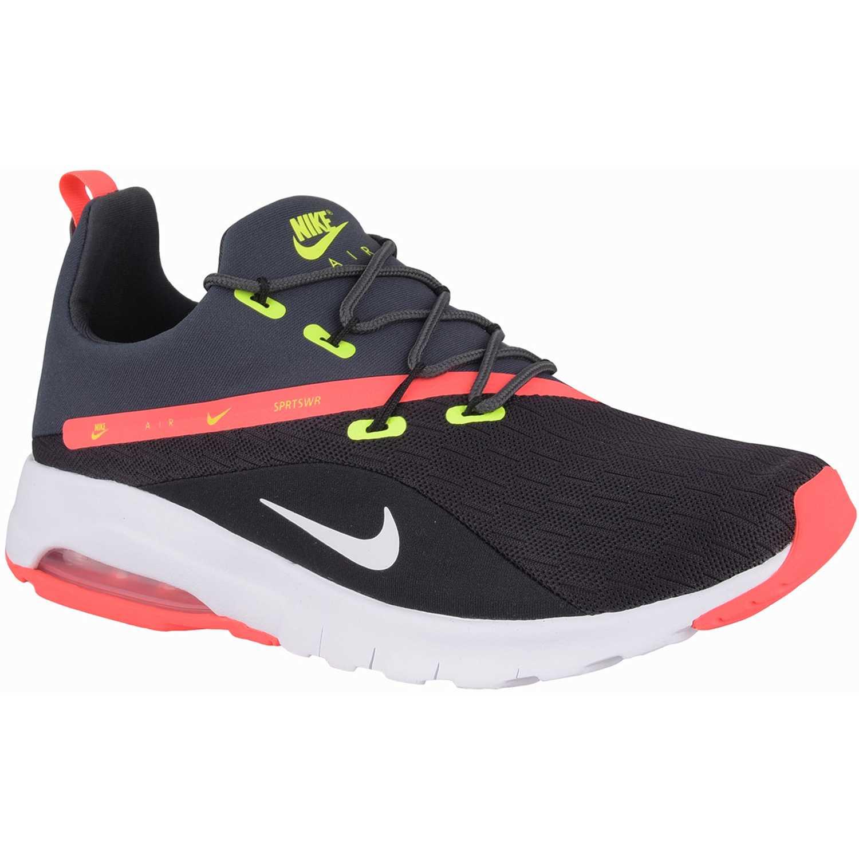 Zapatilla de Hombre Nike Negro / naranja air max motion racer 2