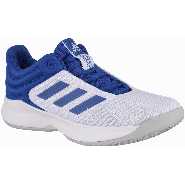 Zapatilla de Hombre Adidas Blanco / azul pro spark 2018 low