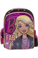 Barbie Fucsia / negro de Niña modelo mochila  barbie Mochilas
