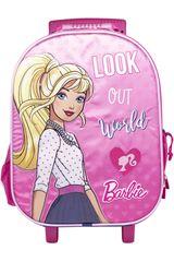 Barbie Rosado de Mujer modelo maleta con ruedas barbie Mochilas Maletínes