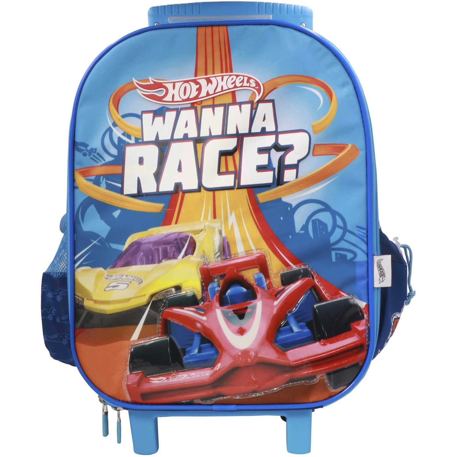Mochila con ruedas de Niño Hot Wheels Azul maleta con ruedas hot wheels