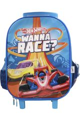 Mochila con ruedas de Niño Hot Wheels maleta con ruedas hot wheels Azul