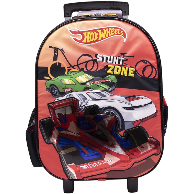Mochila con ruedas de Niño Hot Wheels Rojo maleta con ruedas hot wheels