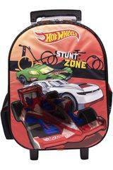 Mochila con ruedas de Niño Hot Wheels maleta con ruedas hot wheels Rojo
